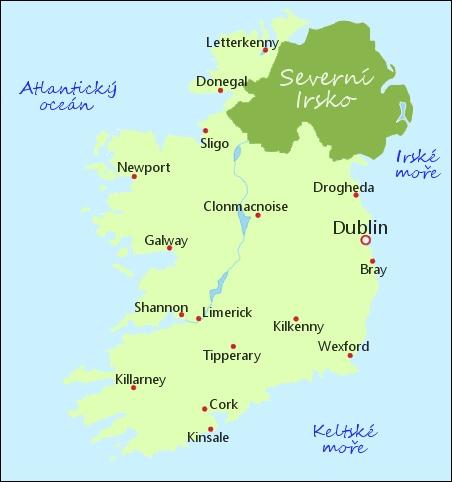 Kde Se Nachazi Irsko